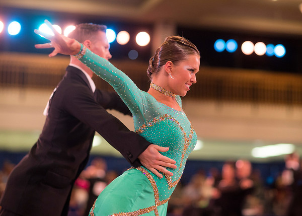 1411-41 0194  1411-41 BLR Dancesport  November ballroom dance competition held in the Wilkinson's Center at BYU.  Organized by Lee Wakefield and Curt Holman, sanctioned by the NDCA.  Friday  Photo by:  Todd Wakefield/BYU  November 14, 2014  Copyright BYU Photo 2014 All Rights Reserved photo@byu.edu   (801)422-7322