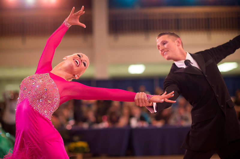 1411-41 0228  1411-41 BLR Dancesport  November ballroom dance competition held in the Wilkinson's Center at BYU.  Organized by Lee Wakefield and Curt Holman, sanctioned by the NDCA.  Friday  Photo by:  Todd Wakefield/BYU  November 14, 2014  Copyright BYU Photo 2014 All Rights Reserved photo@byu.edu   (801)422-7322