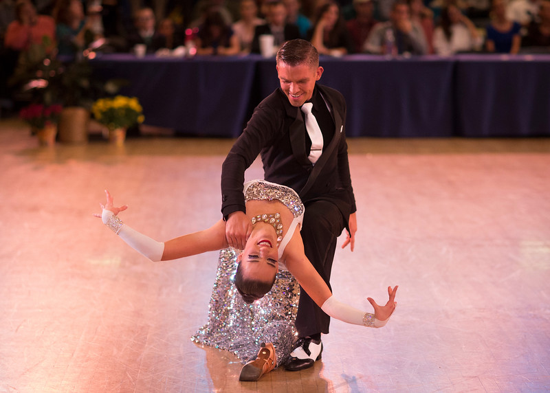 1411-41 0245  1411-41 BLR Dancesport  November ballroom dance competition held in the Wilkinson's Center at BYU.  Organized by Lee Wakefield and Curt Holman, sanctioned by the NDCA.  Friday  Photo by:  Todd Wakefield/BYU  November 14, 2014  Copyright BYU Photo 2014 All Rights Reserved photo@byu.edu   (801)422-7322