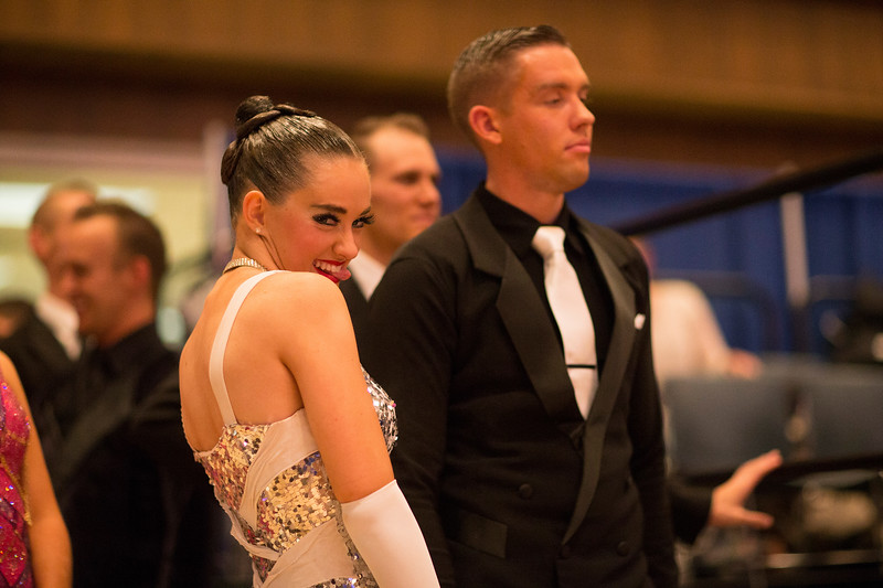 1411-41 0119  1411-41 BLR Dancesport  November ballroom dance competition held in the Wilkinson's Center at BYU.  Organized by Lee Wakefield and Curt Holman, sanctioned by the NDCA.  Friday  Photo by:  Todd Wakefield/BYU  November 14, 2014  Copyright BYU Photo 2014 All Rights Reserved photo@byu.edu   (801)422-7322