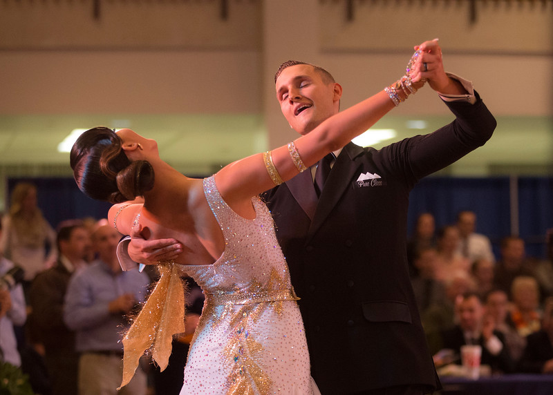 1411-41 0032  1411-41 BLR Dancesport  November ballroom dance competition held in the Wilkinson's Center at BYU.  Organized by Lee Wakefield and Curt Holman, sanctioned by the NDCA.  Friday  Photo by:  Todd Wakefield/BYU  November 14, 2014  Copyright BYU Photo 2014 All Rights Reserved photo@byu.edu   (801)422-7322