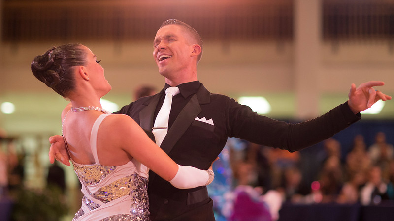 1411-41 0212  1411-41 BLR Dancesport  November ballroom dance competition held in the Wilkinson's Center at BYU.  Organized by Lee Wakefield and Curt Holman, sanctioned by the NDCA.  Friday  Photo by:  Todd Wakefield/BYU  November 14, 2014  Copyright BYU Photo 2014 All Rights Reserved photo@byu.edu   (801)422-7322