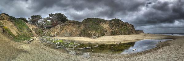 Beach near Ritz Ocean Course (42 shots; 7w x 2h x 3d)