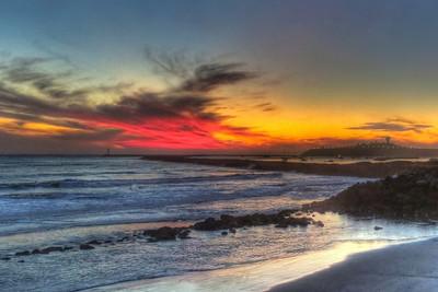 Surfer's Beach Sunset (18 shots; 2w x 3h x 3d)