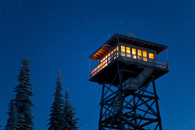 Mountain lighthouse