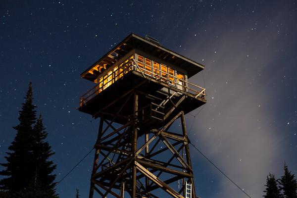 Moonlit lookout