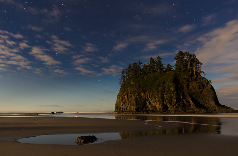 Moonlight on Second beach