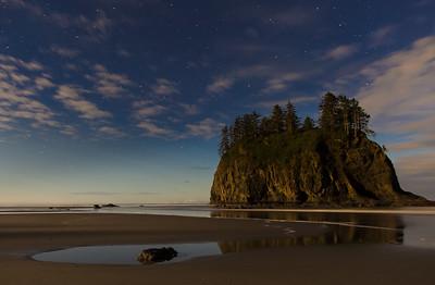 Moonlight on Second beach