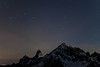 Ursa Major over Mt. Larrabee, American Border Peak, and Canadian Border Peak.