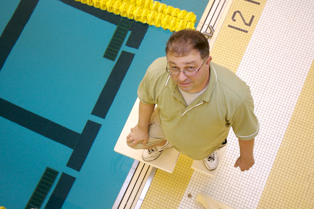Men's swimming coach Adam Cohen is making a run for a seat on the Greencastle City Council.