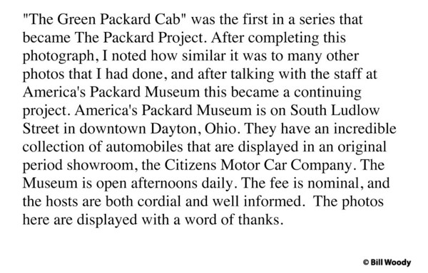 The Packard Project