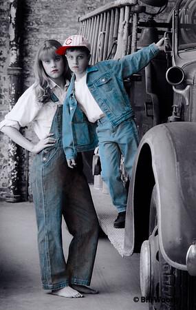 Two Kids & A Firetruck