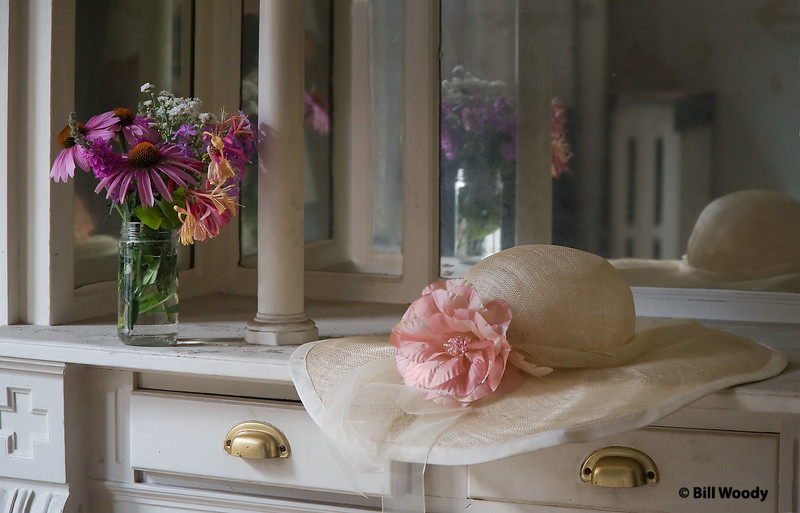 Flowers and Hat:  Thanks to Starr for the flowers (I brought the hat)