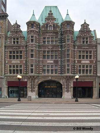 The Downtown Dayton Arcade, the Third Street Facade.