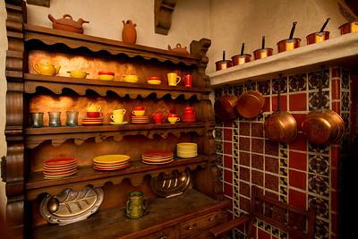 Kitchen in Scotty's castle.