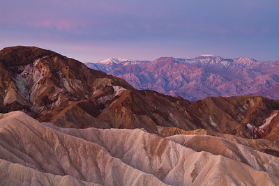 Pre-dawn pilgrimage to Zabriske point.