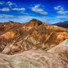 Another Beautiful Shot at Zabriskie Point in Death Valley National Park in California