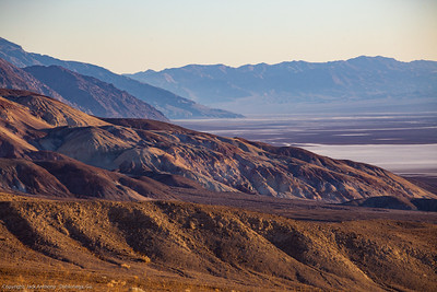 View of Badwater Basin from the Artist Pallet Loop