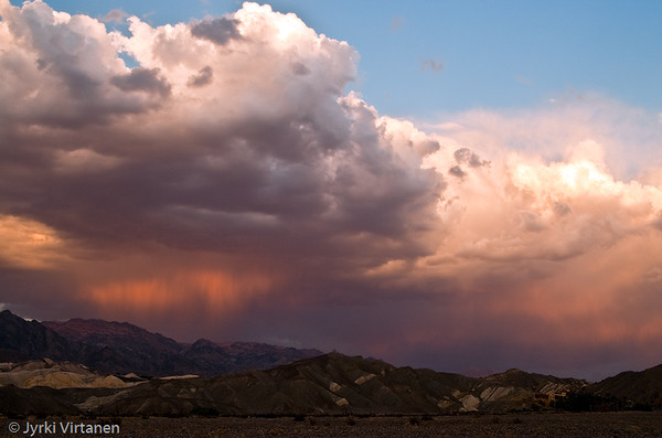 Death Valley Clouds - Death Valley, CA, USA