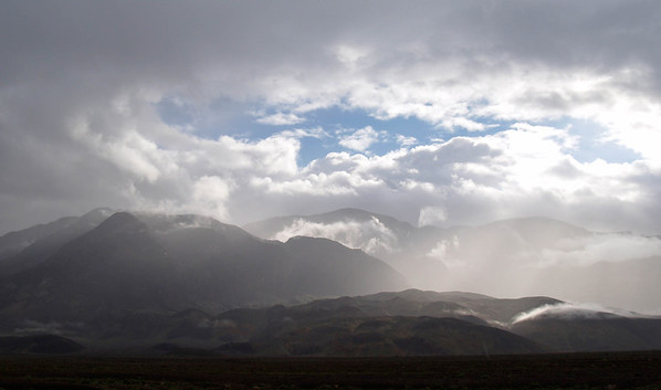 Death Valley - Storm Clouds