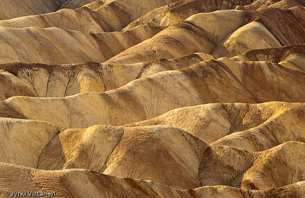 Zabriskie Point Dunes IV - Death Valley, CA, USA