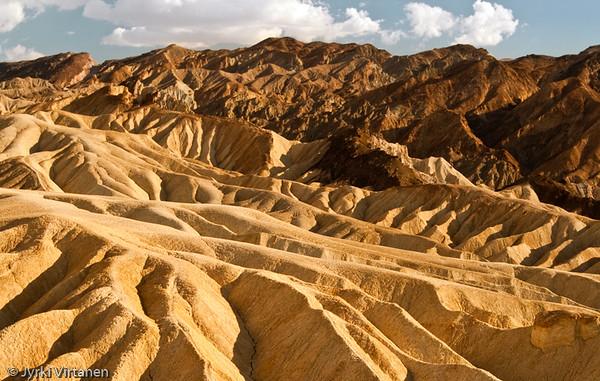 Zabriskie Point Dunes II - Death Valley, CA, USA