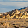 Death Valley National Park .  The Badlands