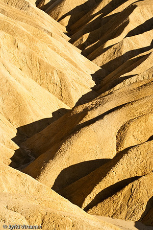 Zabriskie Point Dunes V - Death Valley, CA, USA