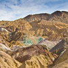 Death Valley National Park .  Artist's Drive. Artist's Pallet