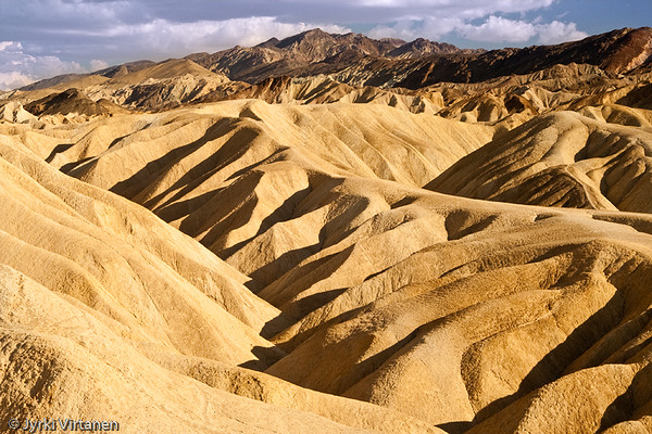 Zabriskie Point Dunes - Death Valley, CA, USA