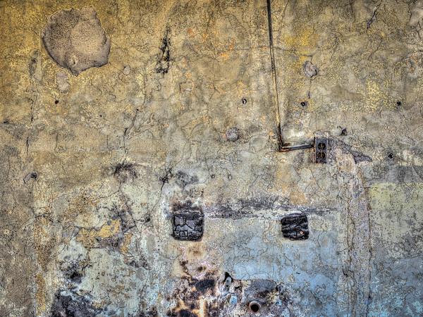 Burnt Wall Abstract