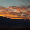 Death Valley National Park sunset.