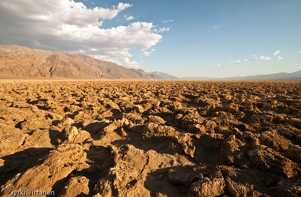Devil's Golf Course - Death Valley, CA, USA
