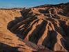 Death Valley - Golden Hills at Sunset