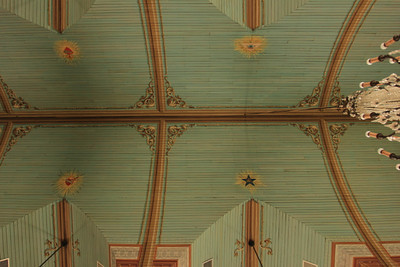 Ceiling detail St. Mary's