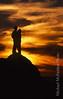 pacific sunset romantic  moment