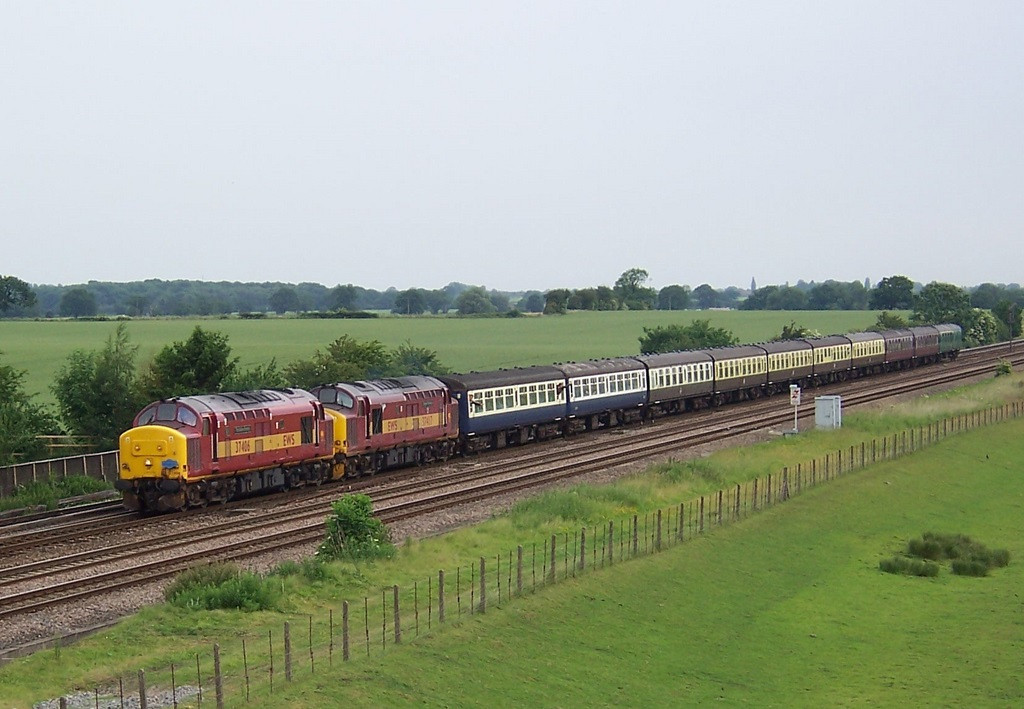 37406 and 37417, Colton Junction. June 2006.