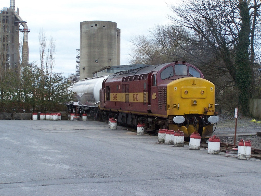37401, Clitheroe Cement Works. March 2008.