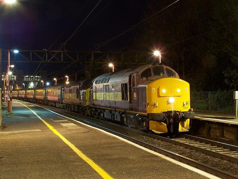 37670 and 37401. Runcorn. May 2009.