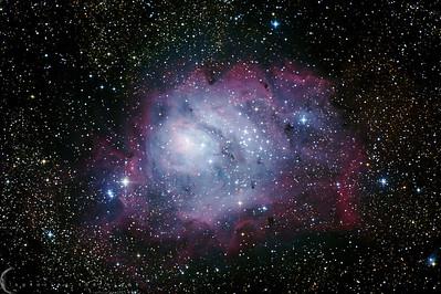 """The Lagoon Nebula"""