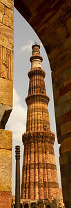 Qutb Minar and the Iron pillar