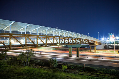 UNT Pedestrian Bridge