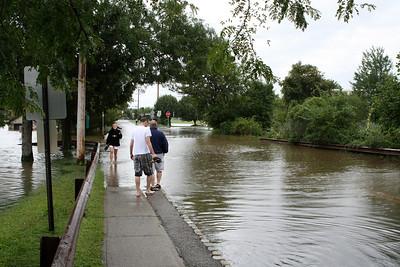 Flooding on Savage Road near Gardner Field