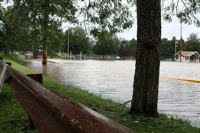 Flooding at Gardner Field