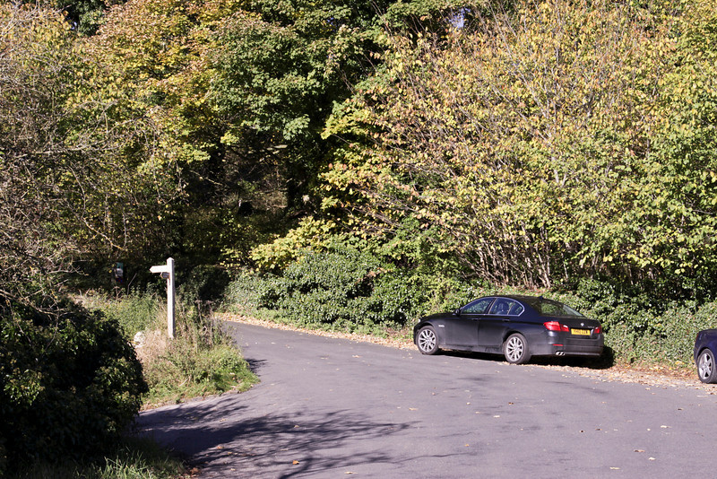 My dirty 5 series in Derbyshire - October 2010