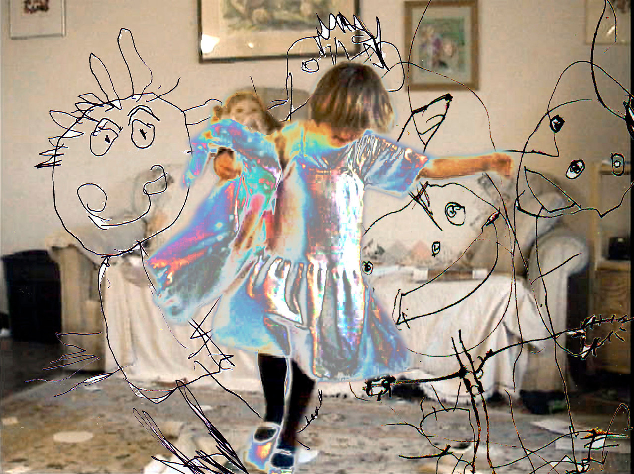 Little Dancer, Pixels and Pixies