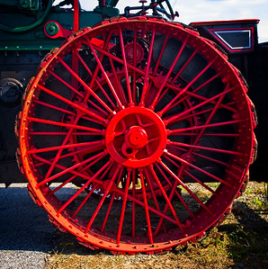 """Steam Tractor Wheel"""
