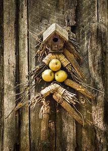 """Grist Mill Birdhouse"""