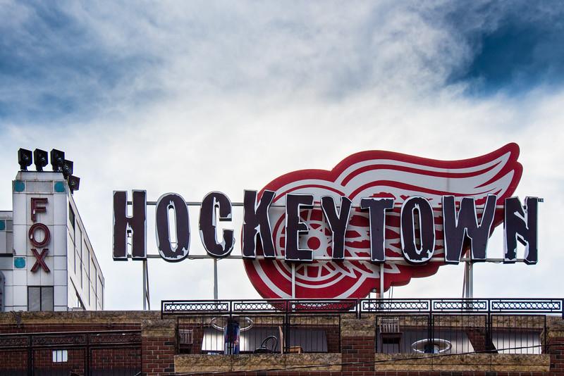 Hey, hey Hockeytown