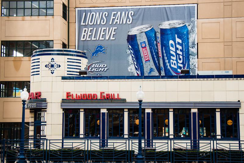 Lions Fans Believe